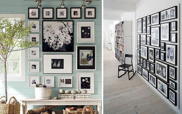 cmo colocar cuadros en las paredes de tu hogar o tu oficina - Decorar Paredes Con Cuadros